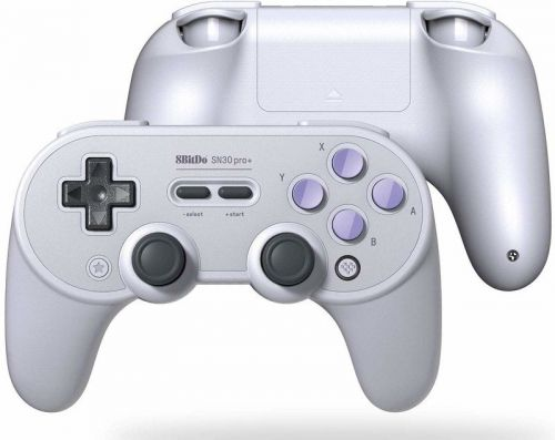 Get the SNES aesthetic when playing your Switch with the 8bitdo Sn30 Pro+ Gamepad, on sale for Cyber Monday