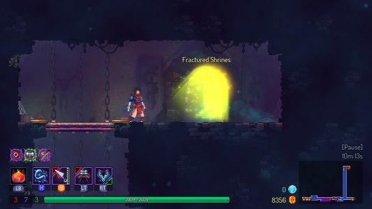 Here's how to find the Fatal Falls levels in Dead Cells