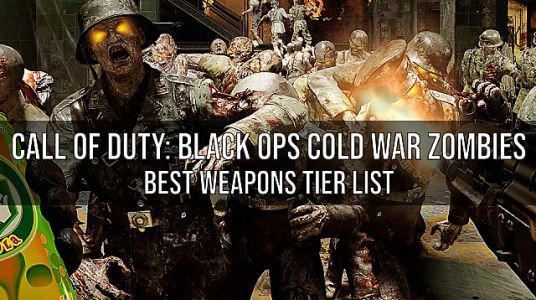 Call of Duty: Black Ops Cold War Zombies - Best Weapons Tier List