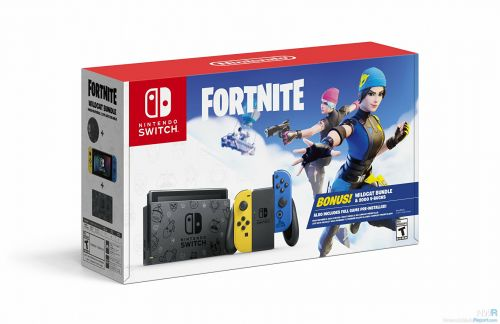 """North America Adds New Fortnite Switch Bundle For """"Cyber Monday"""""""
