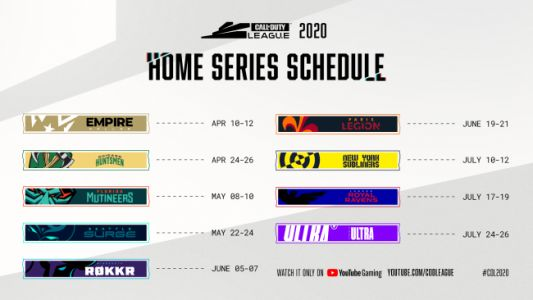 Call of Duty League's 2020 Season Will Continue Via Completely Digital Format