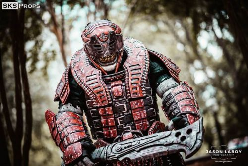 Cosplay Wednesday - Gears of War's Theron Guard