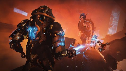 Warframe's limited-time all-mech mode comes to consoles