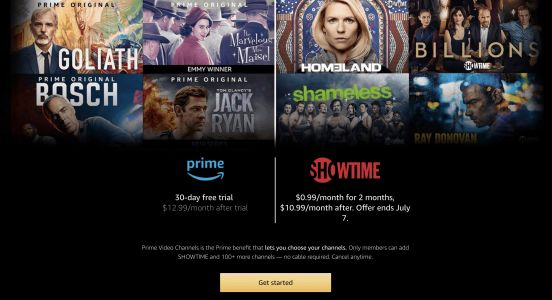 Get Two Months Of Showtime For $0.99