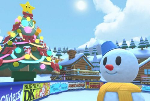 It's beginning to look a lot like Christmas in Mario Kart Tour