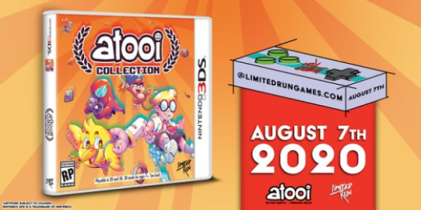 Release Date For Atooi Collection On 3DS Announced