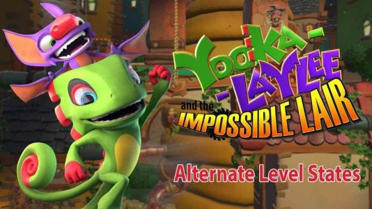 Yooka-Laylee and the Impossible Lair Trailer Looks at Alternate Level States