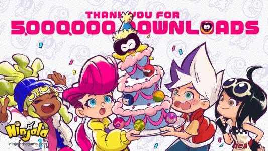 Ninjala Tops Five Million Downloads