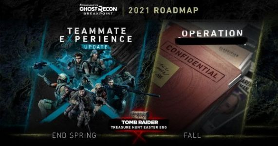 Ghost Recon Breakpoint 2021 roadmap includes an improved AI teammate experience