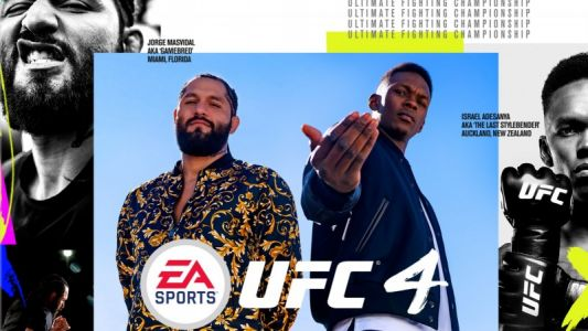 EA Sports UFC 4 Releases In August, Jorge Masvidal And Israel Adesanya Are The Cover Athletes