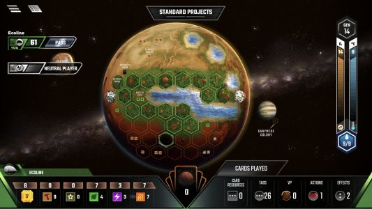 'Terraforming Mars' Review: Boardgame App That is Out of This World