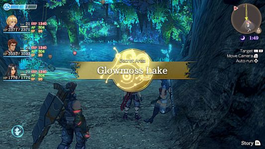 Xenoblade Chronicles Secret Areas Location Guide