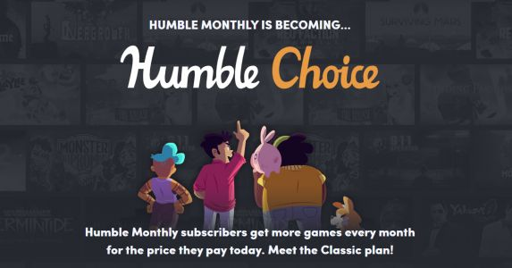 Humble Monthly is becoming Humble Choice: subscribe now for a limited-time cheaper price
