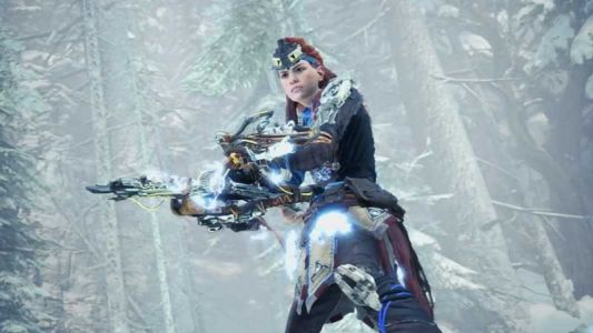 Aloy returns to Monster Hunter World in Iceborne x Horizon Zero Dawn: The Frozen Wilds collaboration