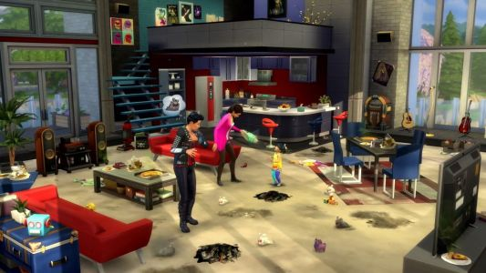 The Sims 4 Kit packs allow you to country up your kitchen, befriend dust bunnies