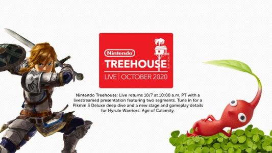 Watch today's Treehouse Live here for new Hyrule Warriors: Age of Calamity and Pikmin 3 Deluxe gameplay
