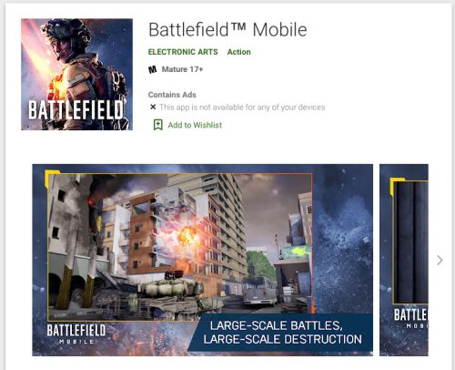 Battlefield Mobile will begin beta testing in select countries in 'Autumn 2021'