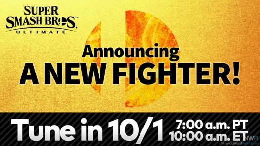 Eighth Smash Bros Ultimate DLC Fighter To Be Revealed Tomorrow