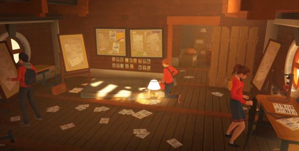 The Academy: The First Riddle is described as 'Harry Potter meets Professor Layton'