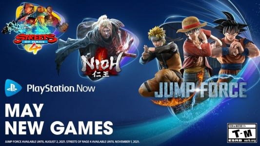 PlayStation Now Adds Nioh, Jump Force, and Streets of Rage 4