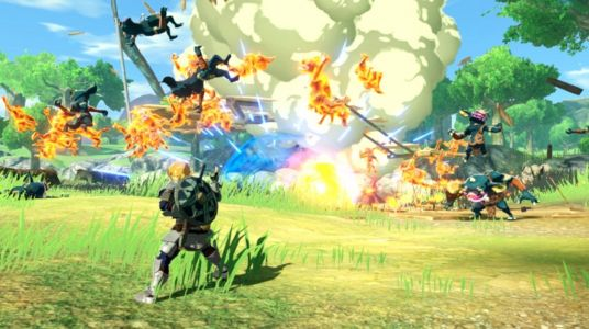 Japan: 50 minutes of Hyrule Warriors Age of Calamity stream on 26th September