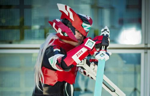 Cosplay Wednesday - Mega Man's Zero
