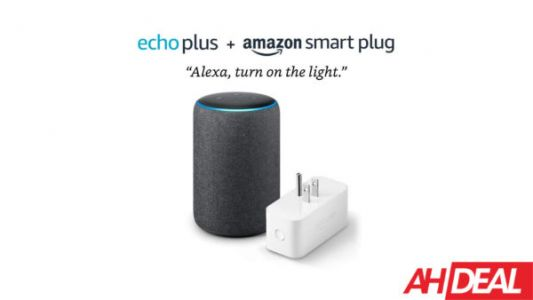 Amazon Echo Plus & Smart Plug For $105 - Amazon Cyber Monday 2019 Deals