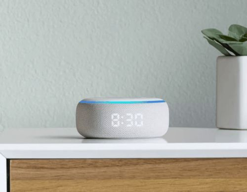 You Can Get The Echo Dot For $39, Echo Dot with Clock For $44