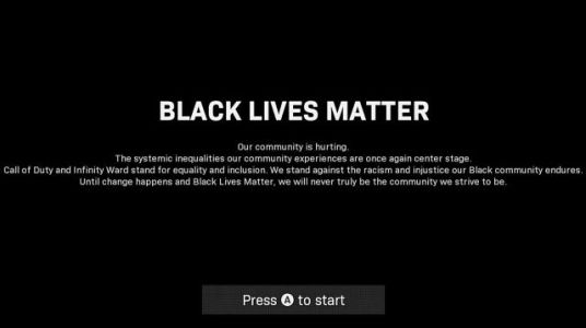 Call of Duty: Modern Warfare Update Adds Message in Support of Black Lives Matter