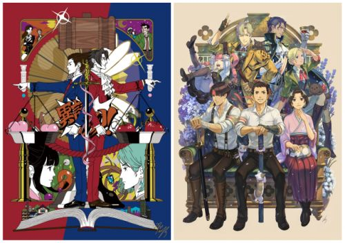 Ace Attorney 20th Anniversary Website is Live, Features New Art by Yusuke Nakamura