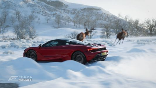 Forza Horizon 4 is giving away free stuff every day in December