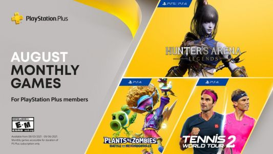 PlayStation Plus Games for August 2021 Announced