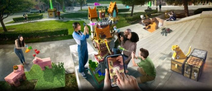 Minecraft Earth is finally available in the US as an early access release