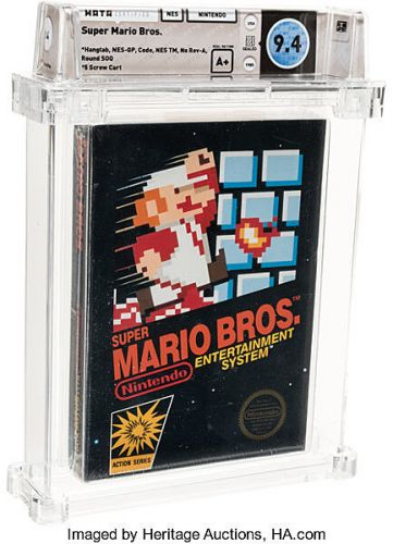 $114,000 Bid for Super Mario Bros. Sets World Record
