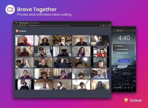 Brave Introduces Encrypted Video Calling Service Called Brave Together