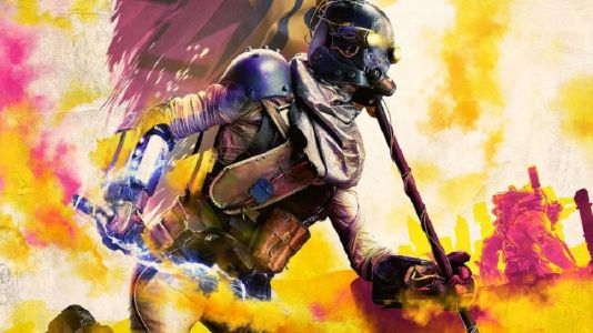 Rage 2 is number one with a bullet in the UK Charts