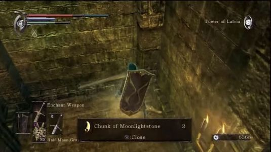 Demon's Souls Moonlightstone Shards, Chunks, and Pure Materials Guide