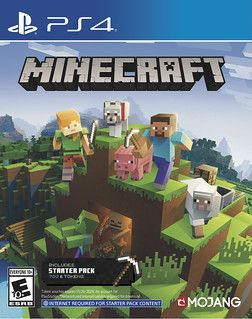 Minecraft Bedrock Version Coming to PS4