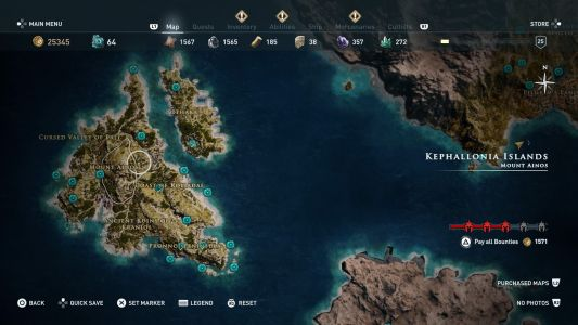 Assassin's Creed Odyssey Orichalcum Ore Locations Guide: Where to find more Orichalcum Ore
