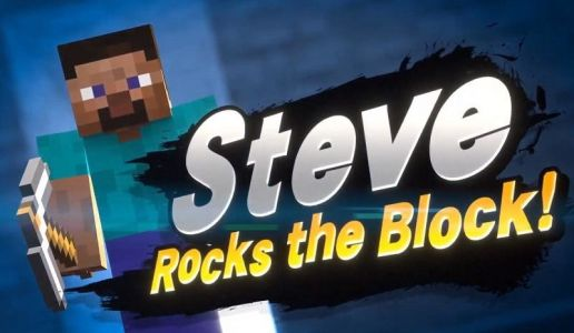 The next Super Smash Bros. Ultimate Fighter is Steve from Minecraft