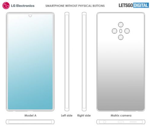 LG May Introduce A Smartphone Without Physical Buttons