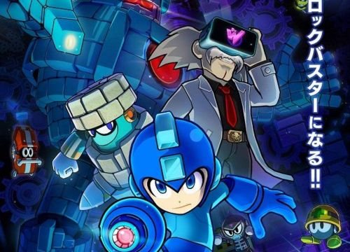 Capcom just announced a Mega Man VR game, but of course you can only play it in Japan