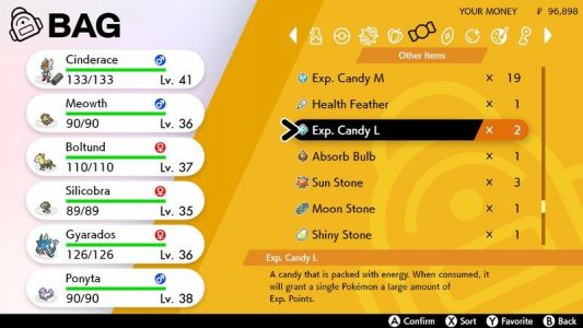 Pokémon Sword and Shield: Every candy, and how to use them