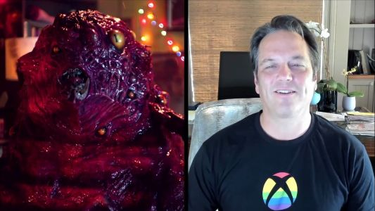 Now this picture of Phil Spencer and a demon monster will show up in Google Images