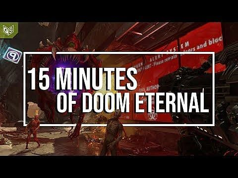 Watch 15-Minutes Of Brand New Doom: Eternal Gameplay