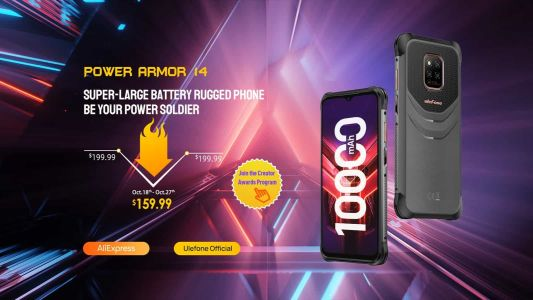 Big Battery Ulefone Power Armor 14 Is Now Available To Pre-Order