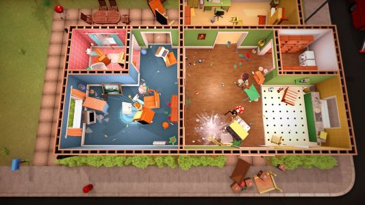Here's a new look at Get Packed: a first-on-Stadia Overcooked-like 'couch co-op removal game'