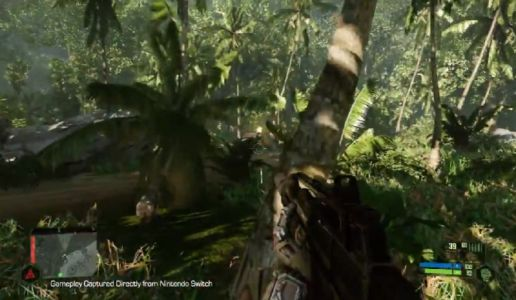 Here's what Crysis Remastered looks like running on Switch