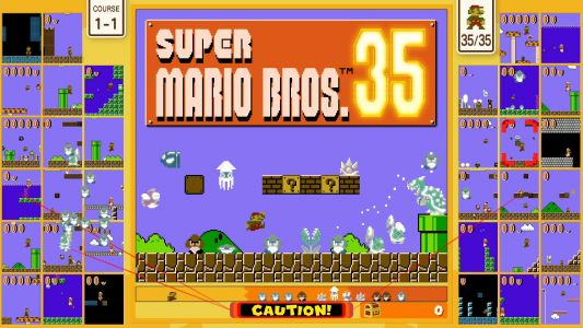 Super Mario Bros. 35 Announced for Nintendo Switch Online, Available October 1st