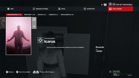 Hitman 3 Icarus Dubai Assassination Challenge Guide
